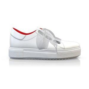 BREN MAROE Designer Women Sport Tec White Sneaker